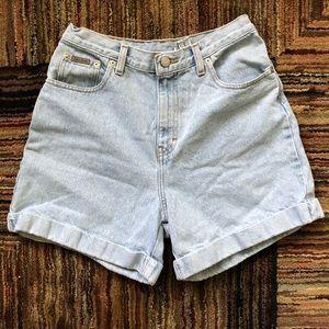 Vintage Calvin Klein Jeans high waisted shorts
